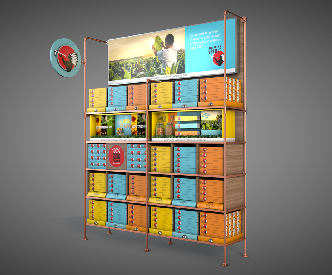 etche-fmcg-natural-american-spirit-instore-wall-bay